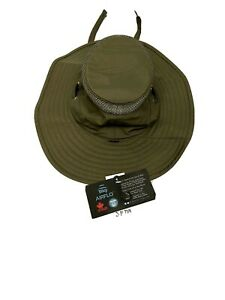 Tilley LTM6 Airflo Hat Olive 7 1/8 NWT Fishing Travel Hiking Sun UPF50 Floats