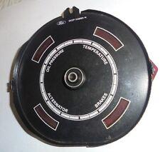 1971-1973 Mustang Warning Lights Gauge Cover Face