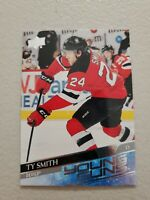 Ty Smith 2020-21 Upper Deck Series 2 Young Guns #456 RC New Jersey Devils