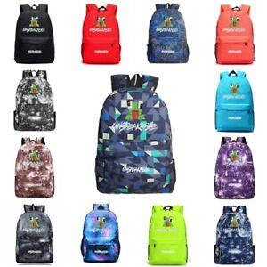 UNSPEAKABLE Backpack Youtuber Students Bookbag Handbags Travelbag Shoulderbag
