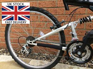 CHAIN STAY PROTECTOR for MOUNTAIN BIKE BICYCLE FRAME BASH GUARD Neoprene - UK