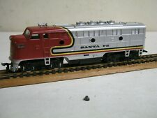 "MODEL POWER ""HO"" "" SANTA FE "" F-3 ""LIGHTED"" DIESEL- 8 WHEEL DRIVE-NIB!!"