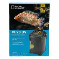 National Geographic CF70 UV Aquarium Canister Filter & Ultraviolet Sterilizer70g