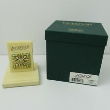 """3 new tile display stands Harmony Kingdom Picturesque-3x3"""".25& #034; x3.5"""""""