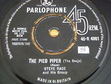 """STEVE RACE - THE PIED PIPER  7"""" VINYL"""