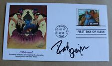 OKLAHOMA THE MUSICAL 1993 USA FDC SIGNED BY ACTOR ROD STEIGER
