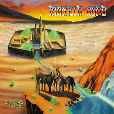 CD Manilla Road Crystal Logic édition de luxe 2CDs