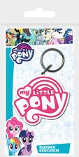 My Little Pony (Logo) Rubber Keychain