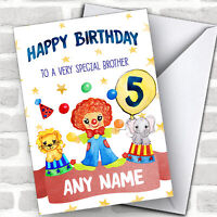 Personalized Boys Birthday Card Pirate 1St 2Nd 3Rd 4Th 5Th 6Th Grandson