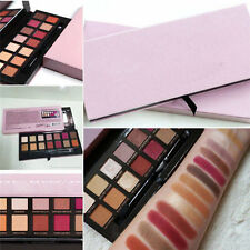 Renaissance 14 Color Eye Shadow Makeup Cosmetic Shimmer Matte Palette w/brush
