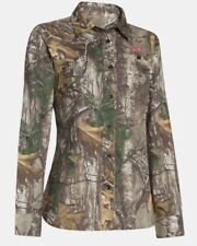 Under Armour Women's Hunting Field Long Sleeve Shirt Realtree Xtra Large L