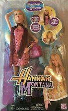NEW IN BOX  Disney Hannah Montana Mattel Fashion Moves Doll