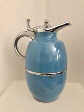 Vintage Peacock Vacuum Bottle Co. Coffee Tea Beverage Carafe 1 Liter