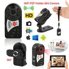 WiFi Mini Hidden Spy Camera Wireless HD Digital Video Motion Activated Cam P2P