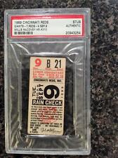1969 Willie McCovey HR # 310 Ticket Stub - Won National League MVP that year!