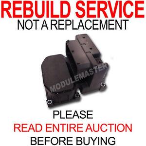 Rebuild Repair for Bosch 5.4 Buick Dodge Ford Saab Volvo Pontiac ABS Module