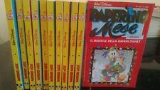 Fumetto PAPERINO MESE della Walt Disney - Anno 1989 numeri da 103 a 114 senza 11