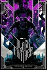 Disney Marvel Black Panther Mondo Purple Variant Print Matt Taylor Avengers