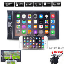 6.6'' Double 2DIN DVD Player Bluetooth MP4/Audio/Video/USB Rearview Camera AAAAA