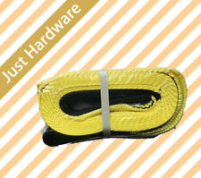 """Towing Tow strap 9 ton 3"""" 77mm x 5M 9T Snatch Strap Winch Extension Strap rope"""