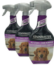 Stainmaster Pet Carpet Stain Remover Cleaner 22 oz each (pack 3) New!