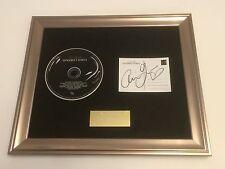 signé / autographié Ariana Grande - Dangerous Femme encadré CD présentation