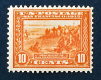 Scott US #400a - 1913 Pan-Pacific, 10 Cents; Mint Never Hinged; OG; CV=$390