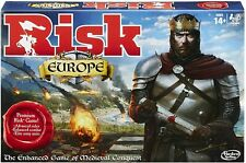 Risk Europe Medieval Conquest Strategy Family Board Game