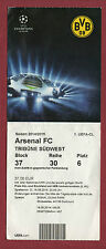 Orig.Ticket   Champions League  14/15   BORUSSIA DORTMUND - ARSENAL FC !! SELTEN