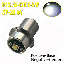 6000K CREE LEDs Bulbs for Panasonic 12V 14.4V 18V Dolphin torch Flash Light