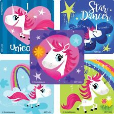 20 Whimsical Unicorn STICKERS Party Favors Teacher Supplies Birthday Treat Bags