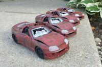 Handmade Brian's Fast And Furious Crashed Toyota Supra 1:24 1/24 scale.Read desc