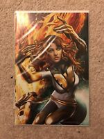 Phoenix Resurrection 1 Horn ComicXposure C Virgin Jean Grey