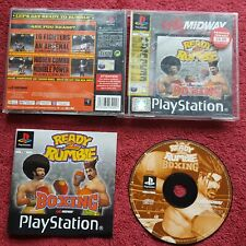 READY 2  RUMBLE BOXING ORIGINAL BLACK LABEL SONY PLAYSTATION PSONE PS1 PS2 PAL