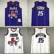 1998 - 1999 Rookie #15 Vince Carter Toronto Raptors Jersey 98 99 RETRO
