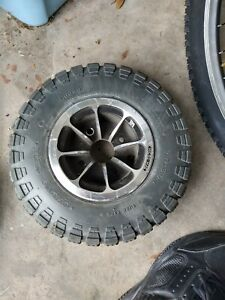 Drive wheels from a Jazzy 1450 power wheelchair