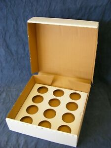 Cupcake Boxes White Heavy Duty Holds 24 or 12 - diff pack sizes