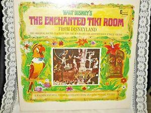 Walt Disney's The Enchanted Tiki Room Vinyl Record Album Jungle Cruise  1968