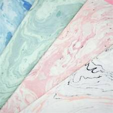 Useful Elegant A5 Pink Notebook Marble Lined Notepad Stationery Painting Style