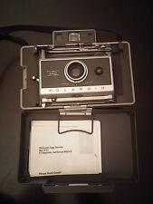 Polaroid 340 Land Instant Film Camera - w/ manual - Folding Bellows RangeFinder