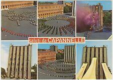 SALUTI DA CAPANNELLE - VEDUTINE - VIGILI DEL FUOCO - POMPIERI (ROMA) 1980