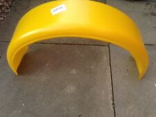 """Go Kart / Trailer Muguards yellow 8"""" wide suitable for many wheel sizes."""