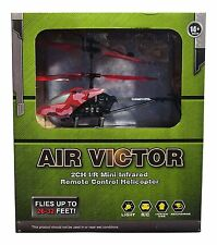Air Victor 2CH I/R Mini Infrared Remote Control Helicopter - Red Camouflage