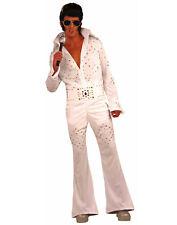 Vegas Superstar Adult Elvis Rock Star Halloween Costume-Std