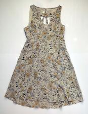 Anthropologie EUC Fan-Cut Iberis Dress by Moulinette Soeurs - Floral Silk- SZ 10