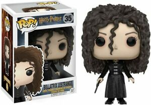 BOX DAMAGED Funko Pop Movies Harry Potter Bellatrix Lestrange Vinyl Figure 10984