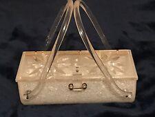 Lovely Vintage Lucite Gilli Original New York City Box Handbag Purse