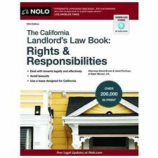 The California Landlord's Law Book: Rights & Responsibilities, Portman, Janet, W