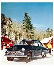 1952 Chevrolet Styleline Deluxe 4 Door Sedan Factory Photo uc7422