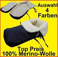 Schlitten Fußsack Fußsack  Lammwolle MERINOWOLLE 100% Farbauswahl 4 Farben